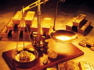 Mesure de la quantité d'or