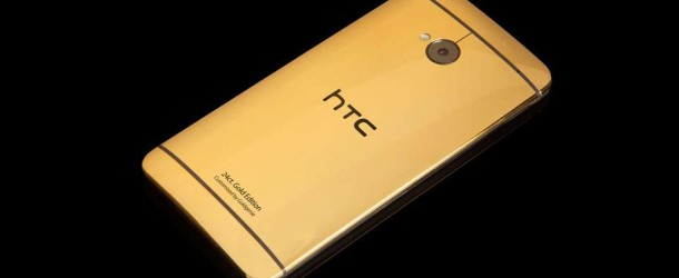 HTC lance un One plaqué or