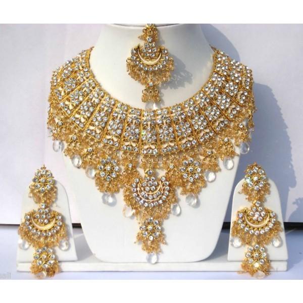 parure-bijoux-mariage-indien-en-plaque-or