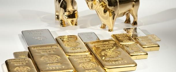 Les cours de l'or n'arrivent pas à rebondir