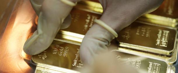 Le recul des cours de l'or en dollars